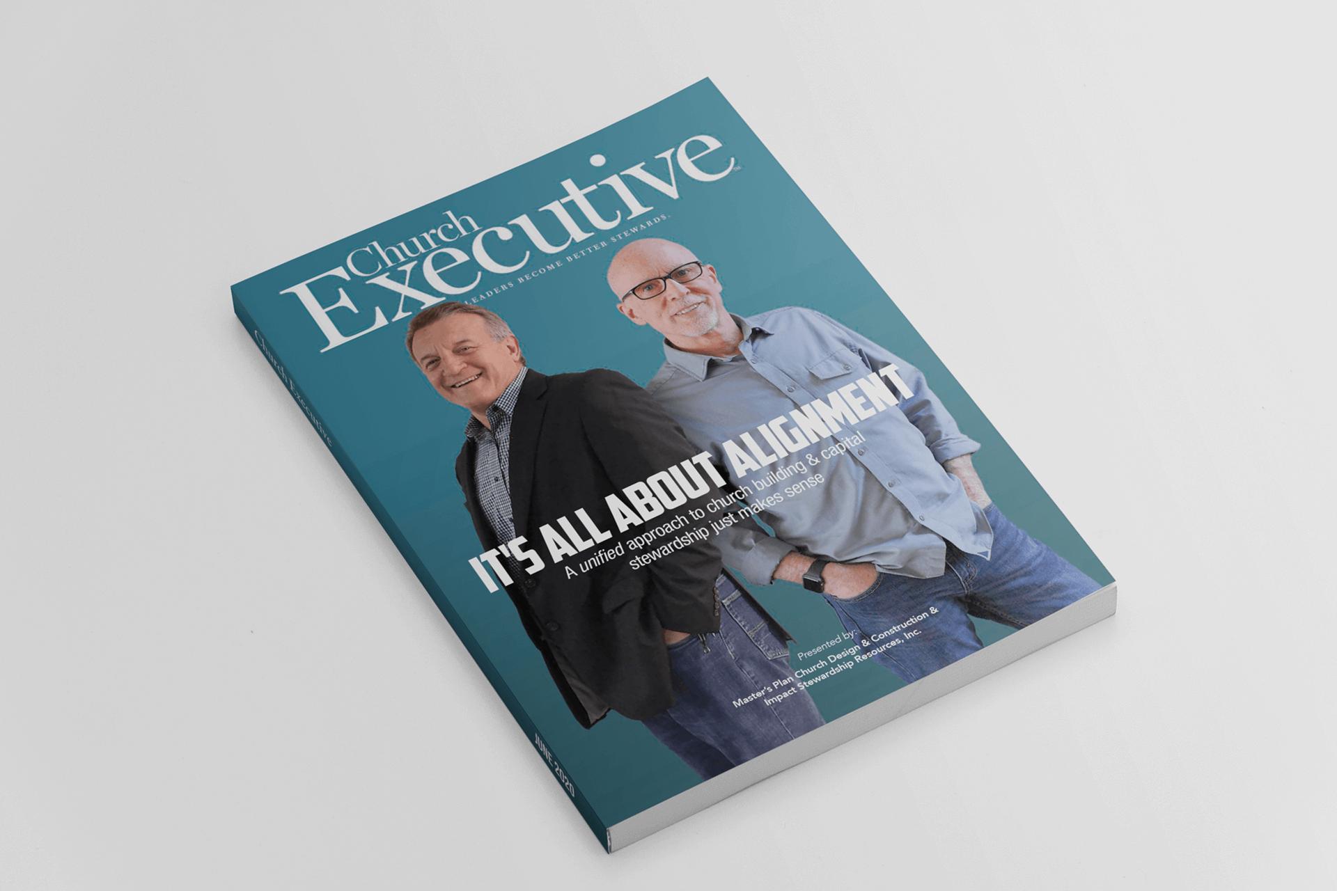 Church capital campaign magazine cover